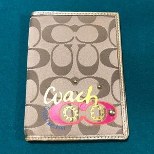 New woman's coach wallet